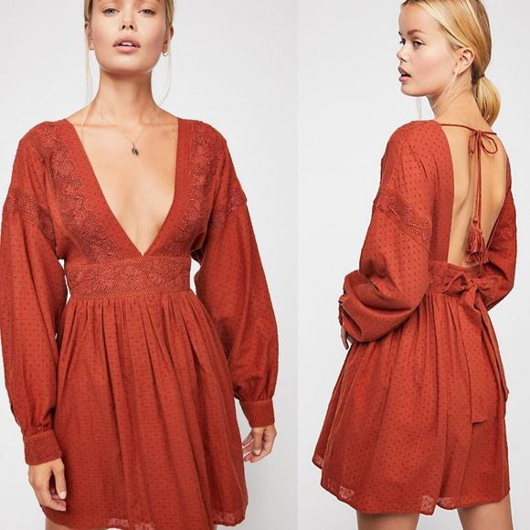 90d31507538 NWT Free People SugarPie Mini Dress